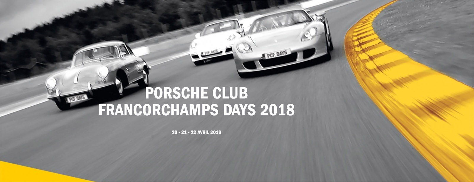 Couverture Les Porsche Club Francorchamps Days 2018